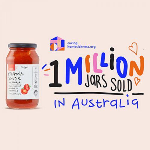 1 million jars sold
