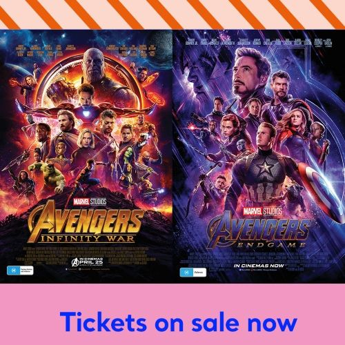 Avengers Double Bill charity screening