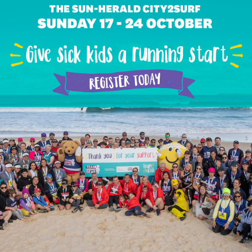 Run to your own beat for City2Surf 2021