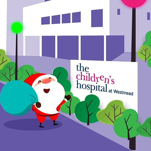 Westconnex guiding Santa to our Hospitals